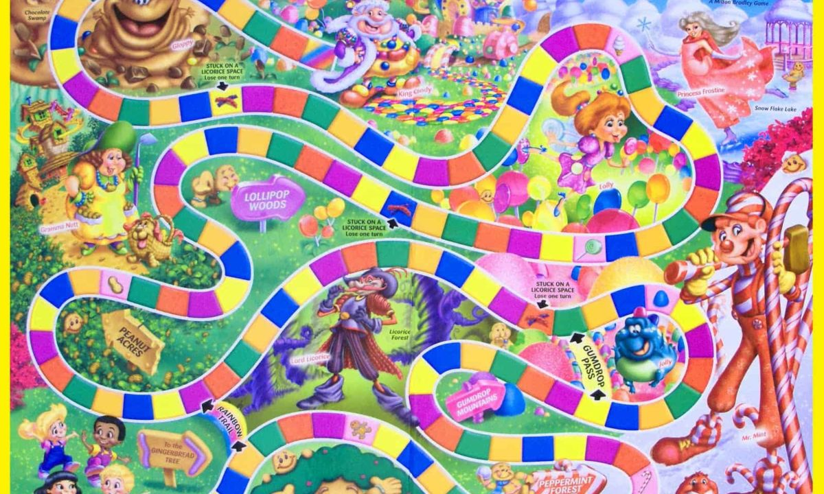 Candy Land in Real Life