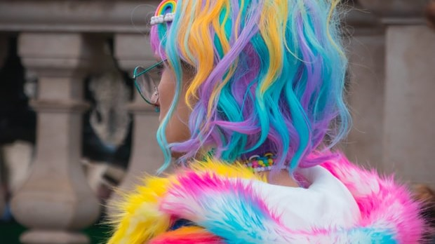 Crazy Colorful Hair! Rainbow Locks are All the Rage