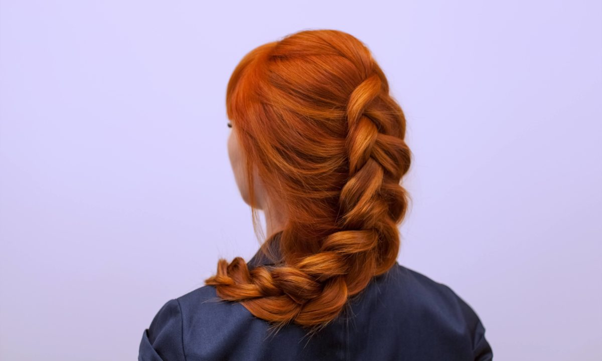 How to Do an Inside-Out French Braid