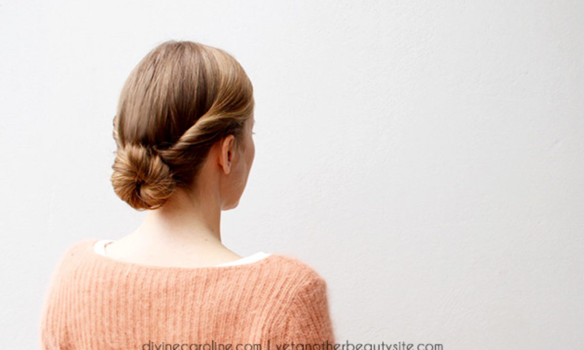 Hairstyle in a Hurry: A 5-Minute Updo