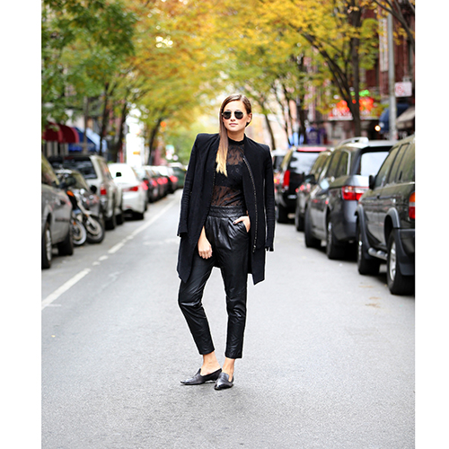 BLANKNYC Vegan Leather Pant