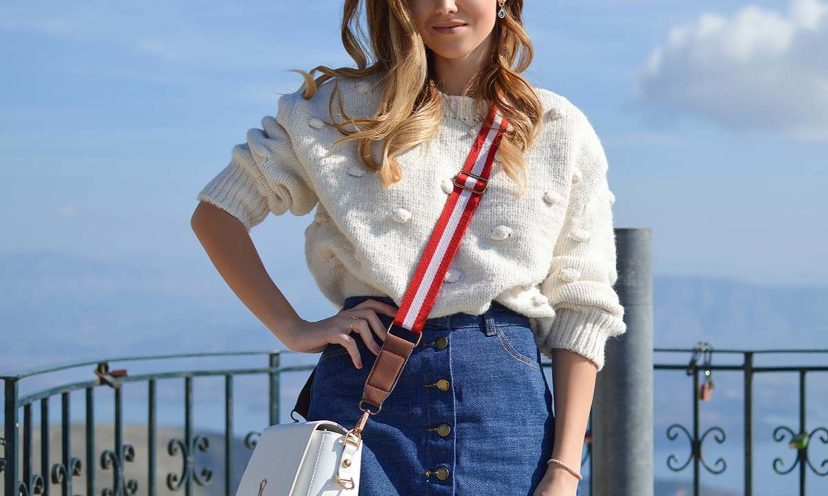 16 Fresh Ways To Wear A Denim Skirt