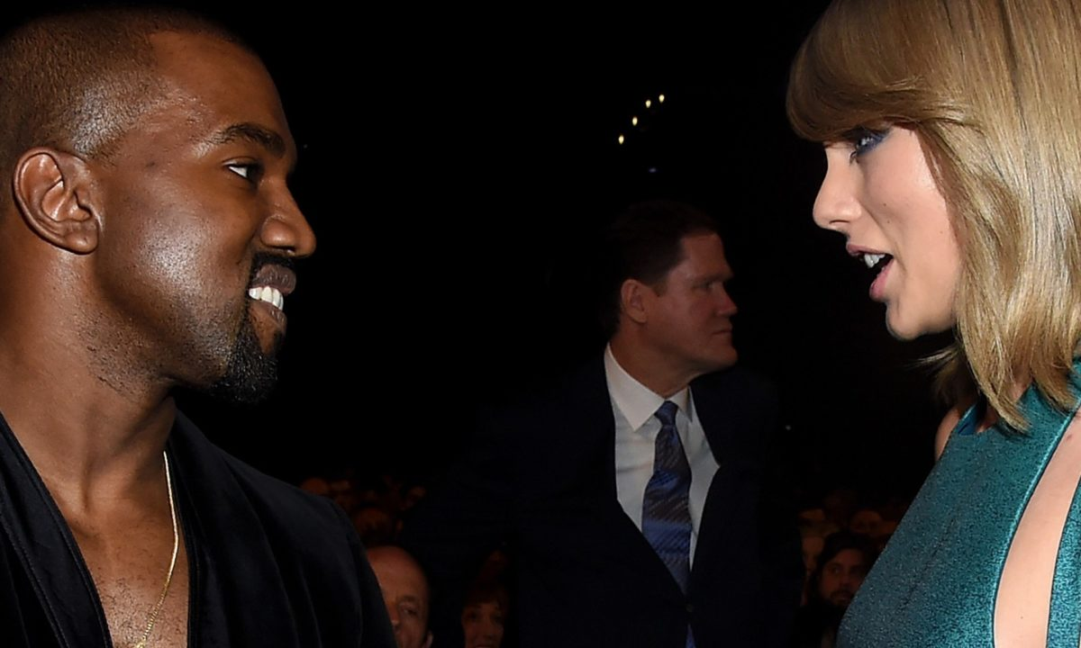 Kanye Throws Taylor Swift Some Serious Shade In His New Album