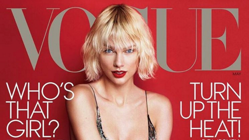 Taylor Swift Looks Stunning on the Newest Vogue Cover