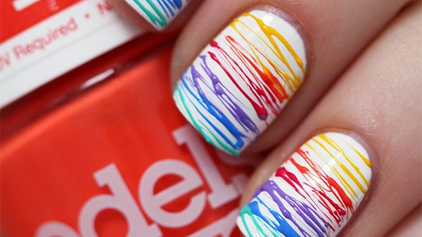 15 Amazing Rainbow Nails to Help You Celebrate Pride