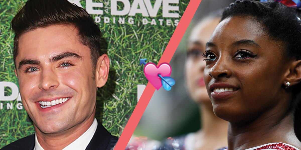 Everything You Need To Know About Simone Biles and Zac Efron's Social Media Love Story