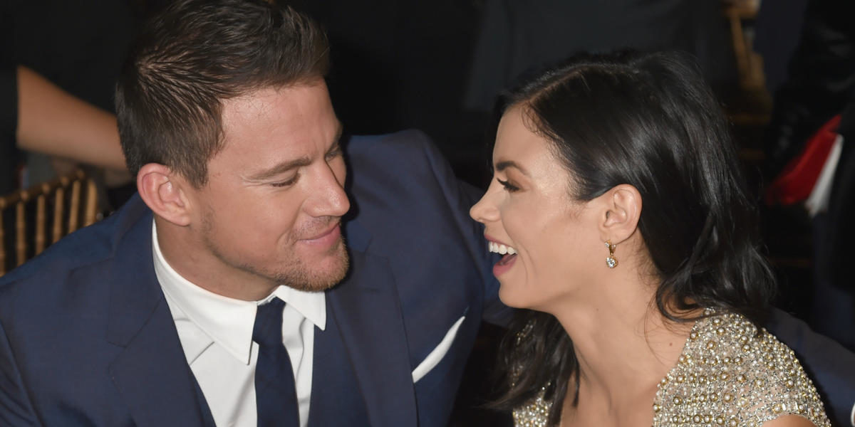 Jenna Dewan and Channing Tatum Recreated Their Famous 'Step Up' Dance Scene