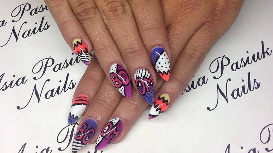 20 Cartoon,Inspired Nails You Need to Try Now , More