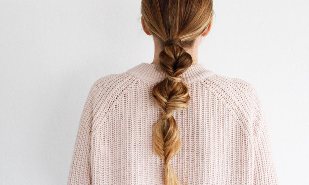 This Beautiful Bubble Braid Is Perfect For Medium To Long Hair