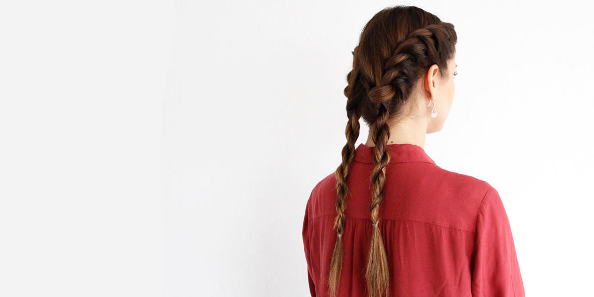 These Twisted Pigtails Are As Easy As They Are Adorable
