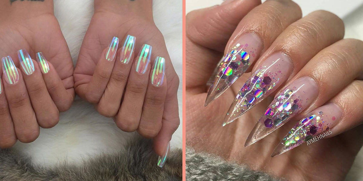 See-Through Nails Are *Clearly* The Next Big Trend