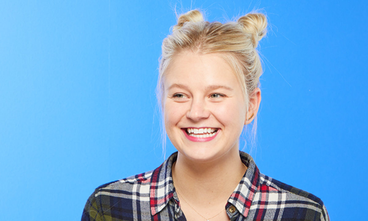 A Double Topknot Hair Tutorial That Looks Chic, Not Childish