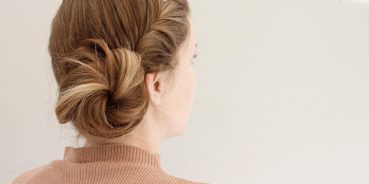 This French Fishtail Braided Side Bun Is The Only Hair Tutorial You Need For Summer