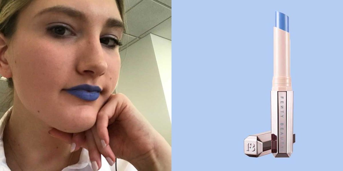 I Wore Blue Lipstick For A Day And I Felt Like A Total Baddie