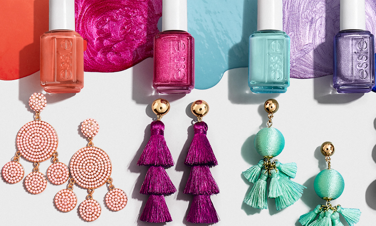 Essie & BaubleBar Want To Help You Coordinate Your Summer Fashion