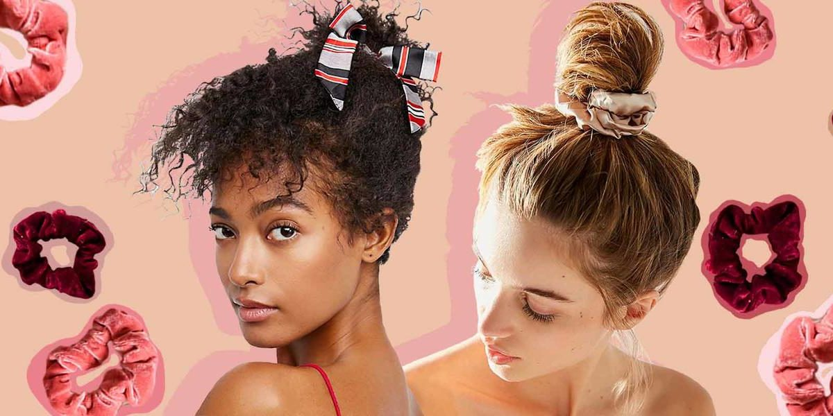 "Scrunchies Are The ""It"" Hair Accessory, And We're Loving Them Right Now"