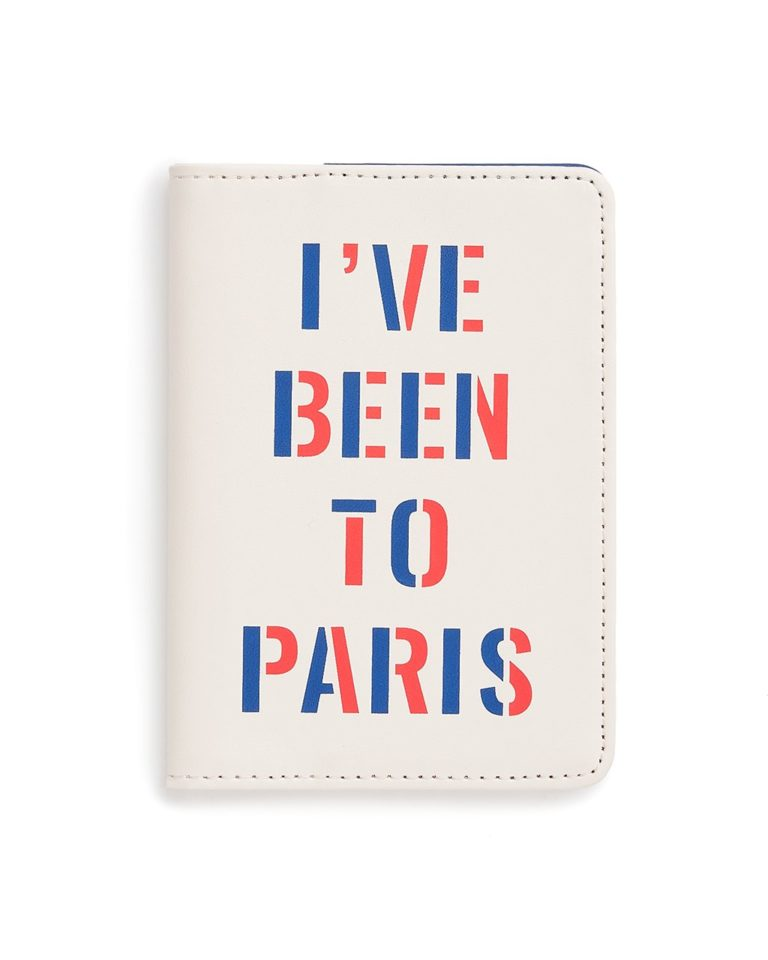 ban.do I've Been to Paris Getaway Passport Holder