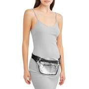 Clear Lucite Large Fanny Pack