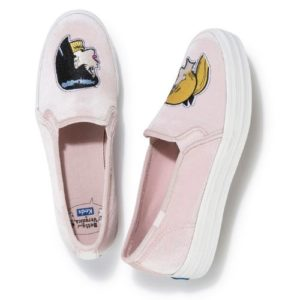 Keds X Betty and Veronica Triple Decker Embroidered Profile