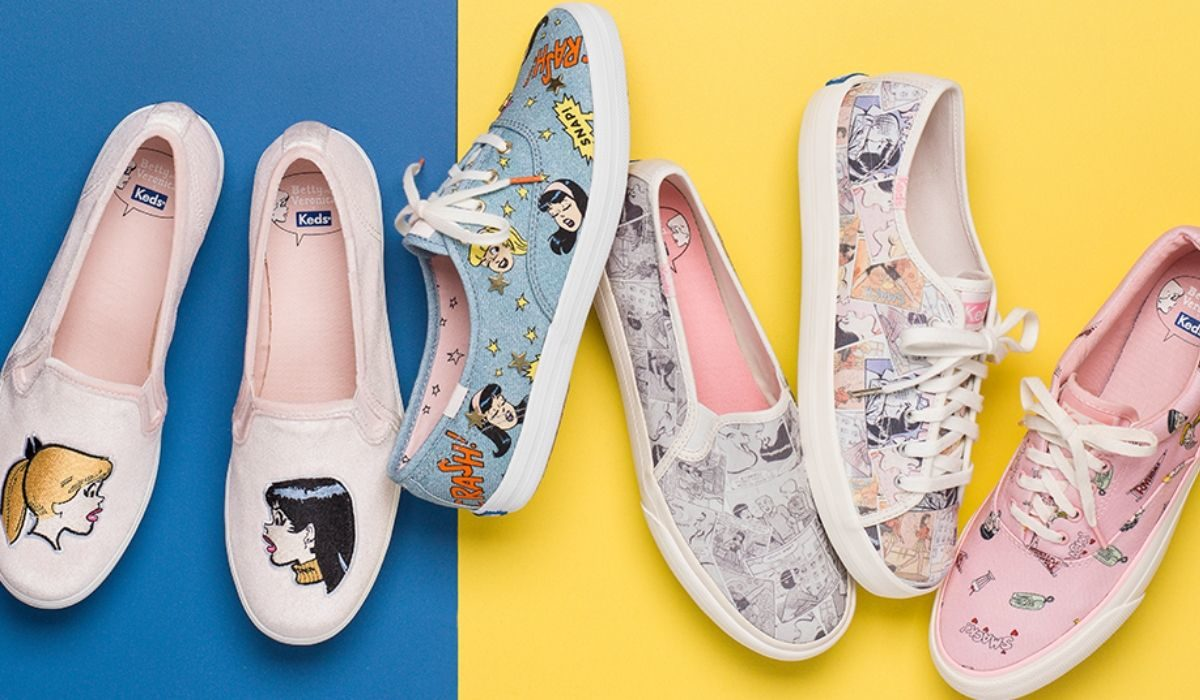 Keds Launched a Collection Inspired by 'Riverdale' Power Duo, Betty and Veronica