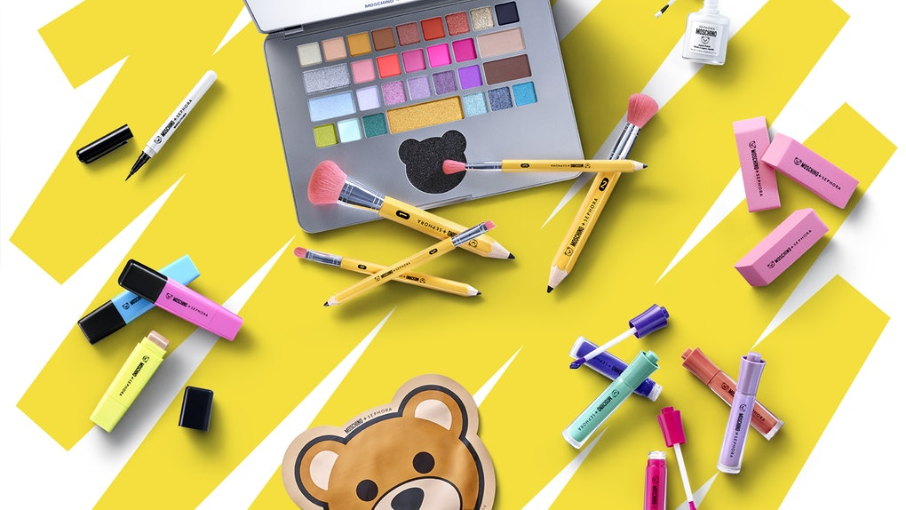 Sephora and Moschino Are Teaming Up for a Back to School-Themed Makeup Collection
