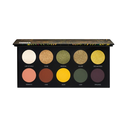 UOMA Beauty Allure Black Magic Color Palette