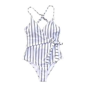 Cupshe Women's Stay Young Stripe One-Piece