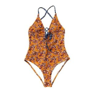 Cupshe Light Up The Night Print One-Piece Swimsuit