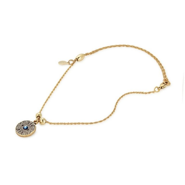 Alex and Ani Evil Eye Anklet