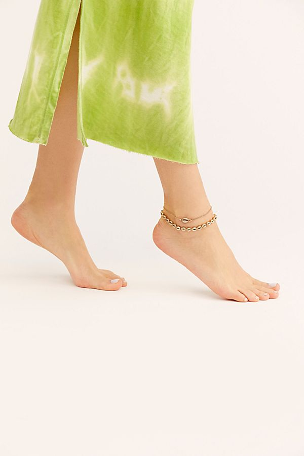 Free People Delicate Ankle Set