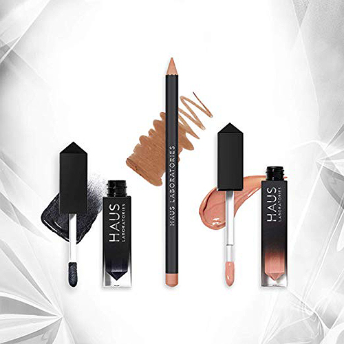 HAUS of Collections, 3 pieces: All-Over Color, Lip Gloss, Lip Liner