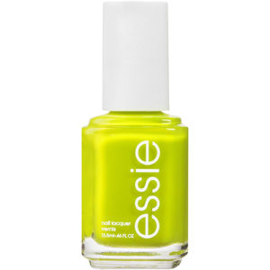 essie lime green nail polish in the shade Stencil Me In