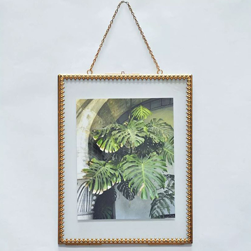 Opalhouse Pressed Glass Frame