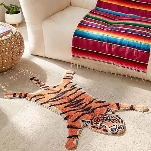 Urban Outfitters Tiger Bath Mat