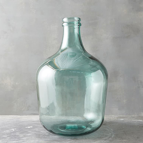 Terrain Extra Large Bottleneck Glass Vase