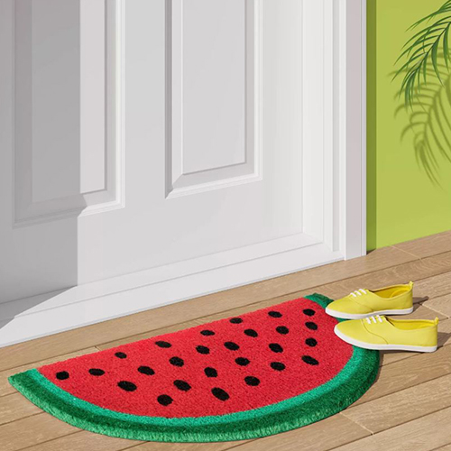 Sun Squad Watermelon Tufted Doormat