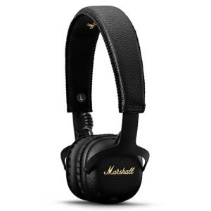 Black marshall headphones