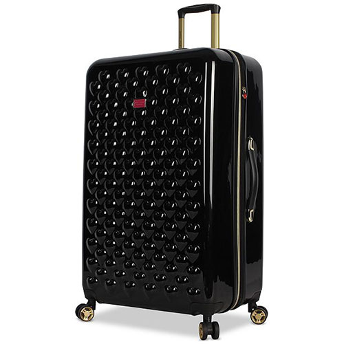 Betsey Johnson Heart To Heart Hardside Expandable Spinner Suitcase