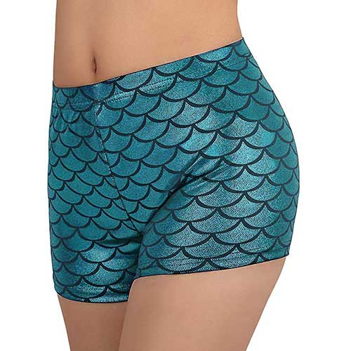 HDE Mermaid Booty Shorts