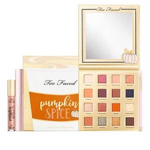 Too Faced Pumpkin Spice & Everything Nice