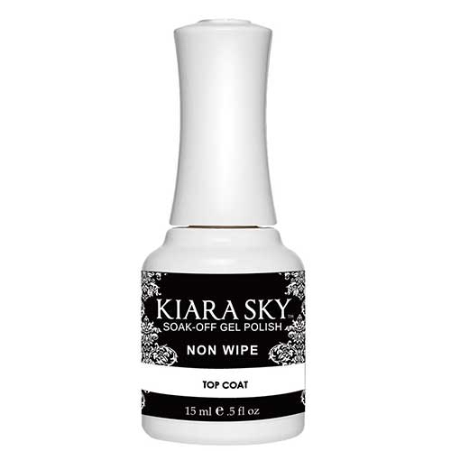 Kiara Sky Soak Off Gel Polish Non Wipe Top Coat