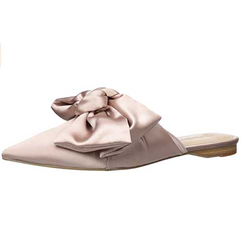 The Drop Bow Mules