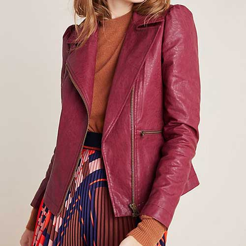 Anthropologie Petula Moto Jacket
