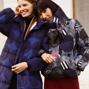 This Uniqlo x Marimekko Puffer Cocoon Coat Looks Like a Work of Art
