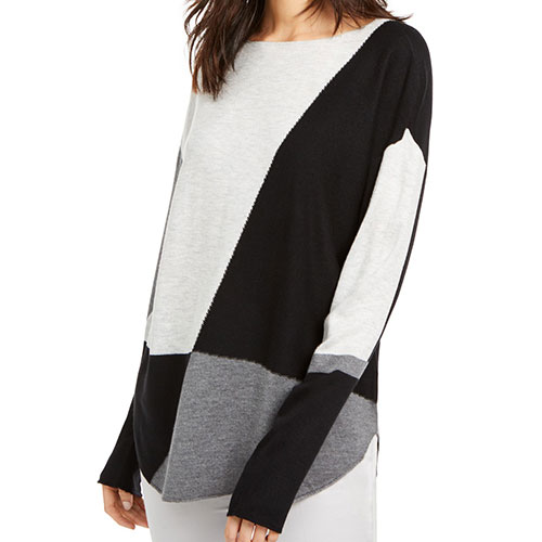 INC Colorblocked Sweater