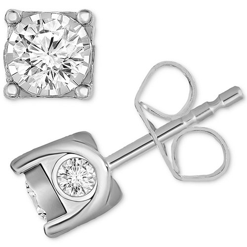 TruMiracle Diamond Stud Earrings