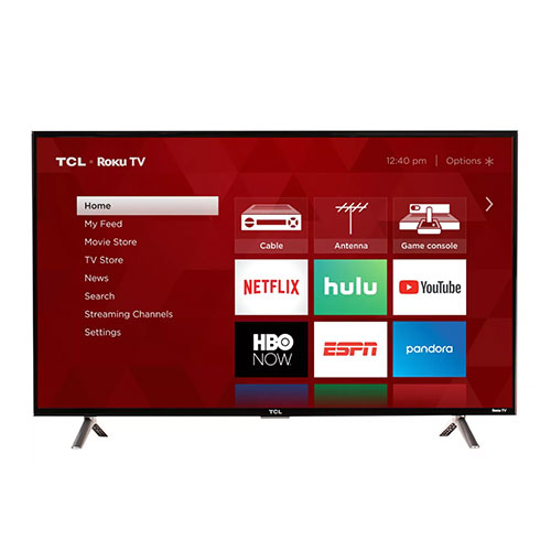 "TCL 40"" 1080p Smart LED Roku TV"