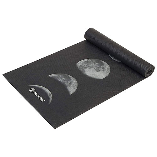 Incline Fit Printed Exercise Mat