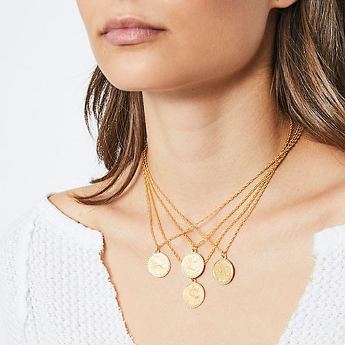 CAM Jewelry Ascending Medallion Necklace