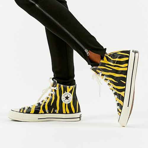 Converse Chuck 70 Leather Archive Print High Top Sneaker